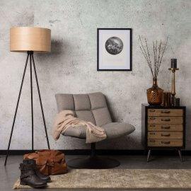 Fotelja Bar Light Grey