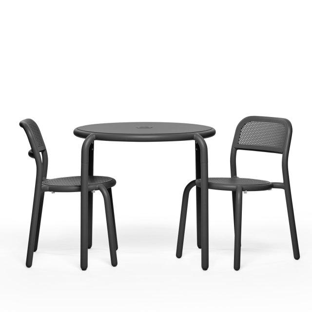 Bistro stol Toní Anthracite
