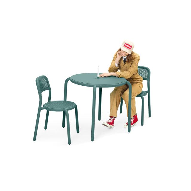 Bistro stol Toní Pine Green