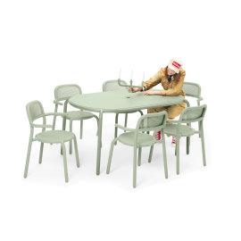 Vrtni stol Toní Tavolo Mist Green