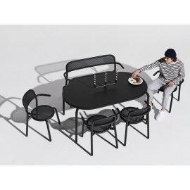 Vrtni stol Toní Tavolo Anthracite