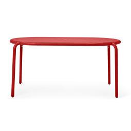 Vrtni stol Toní Tavolo Industrial Red