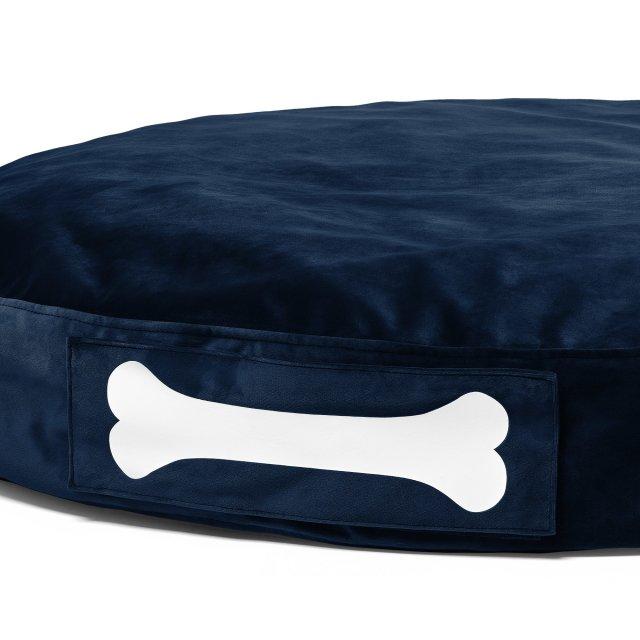 Jastuk za pse Doggielounge Velvet Dark Blue