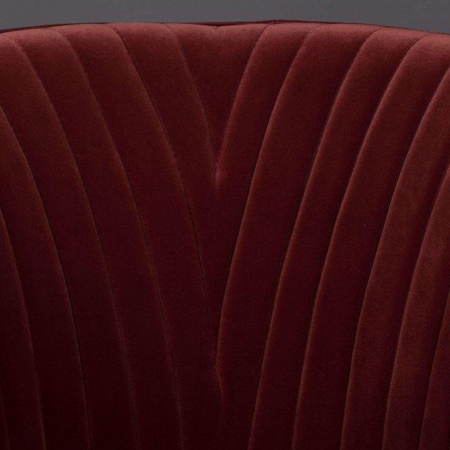 Fotelja Dolly Burgundy FR
