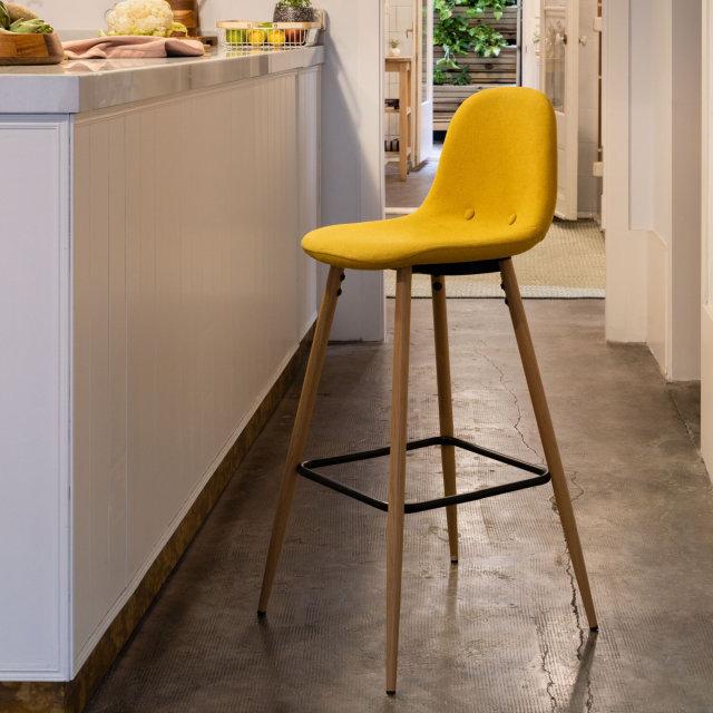 Polubarska stolica Nolite Mustard