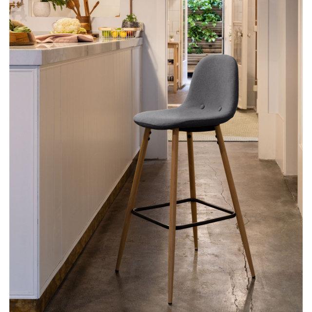 Barska stolica Nolite Dark Grey