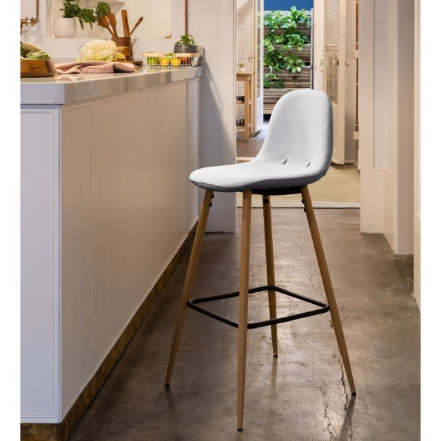 Barska stolica Nilson Light Grey