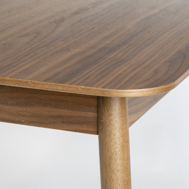 Produljivi stol Glimps 120/162x80 cm Walnut
