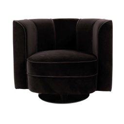 Fotelja Flower Black