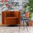 Fotelja Flower Orange