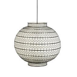 Stropna lampa Ming Round 45