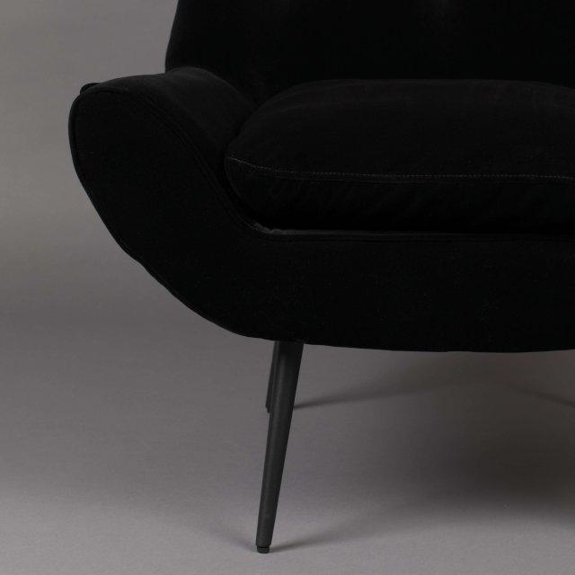 Fotelja Glodis Nero