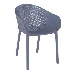 Stolica s rukonaslonom Sky Dark Grey