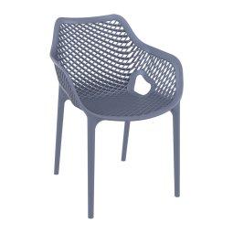 Stolica s rukonaslonom Air XL Dark Grey