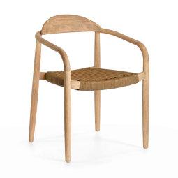 Stolica s rukonaslonom Nina Natural