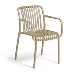 Stolica s rukonaslonom Isabellini Beige