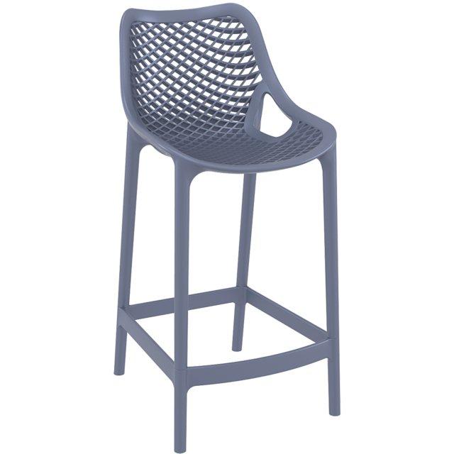 Polubarska stolica Air Dark Grey