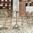Polubarska stolica Air Taupe