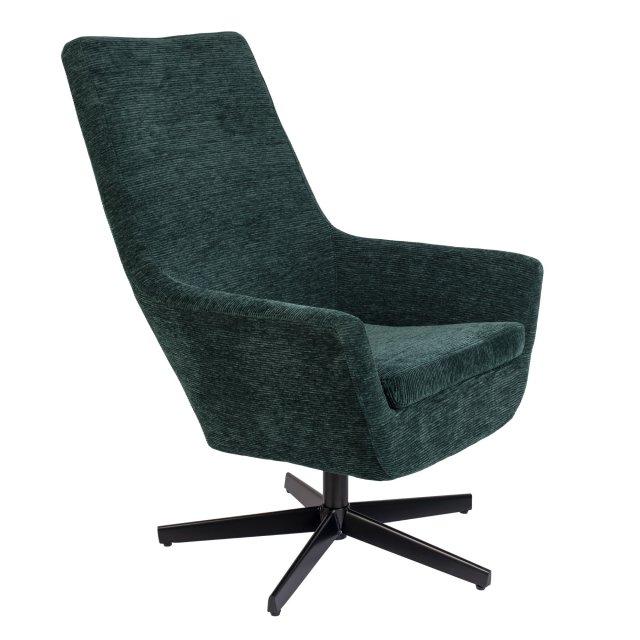 Fotelja Bruno Rib Green