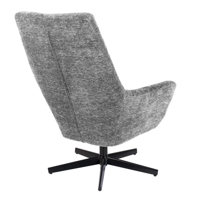 Fotelja Bruno Rib Light Grey