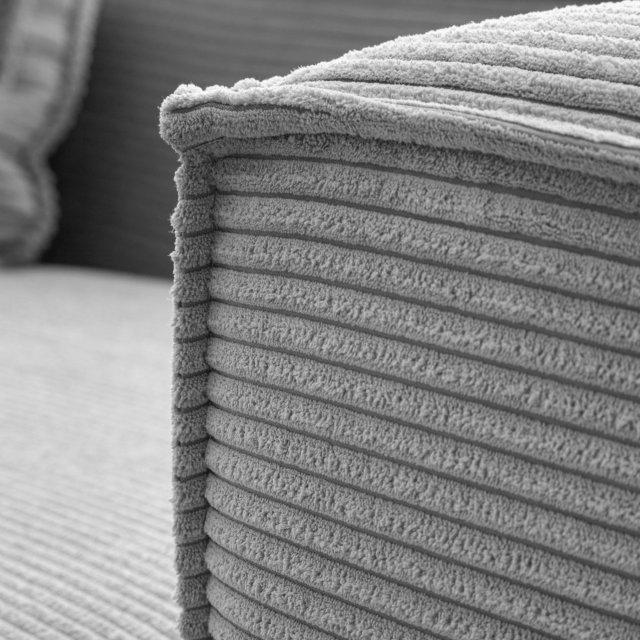Kutna sofa Blok Right Light Grey