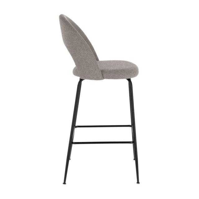 Polubarska stolica Mahalia Light Grey