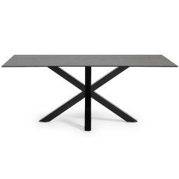 Stol Argo 200x100 cm Black/Moss