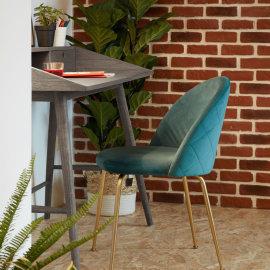 Stolica Ivonne Velvet Turquoise