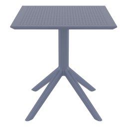 Stol Sky 70x70 cm Dark Grey