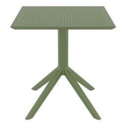 Stol Sky 70x70 cm Olive Green
