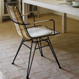 Stolica s rukonaslonom Ashanti Black