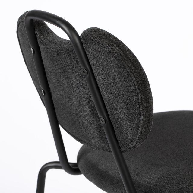 Polubarska stolica Aspen Black