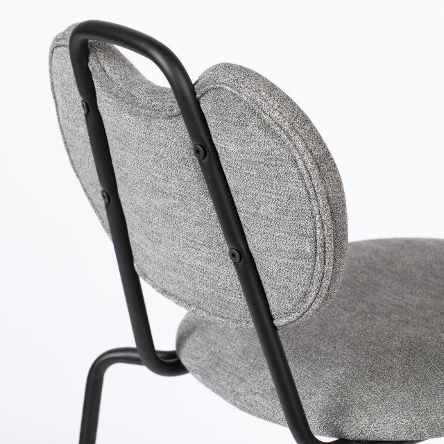 Polubarska stolica Aspen Grey