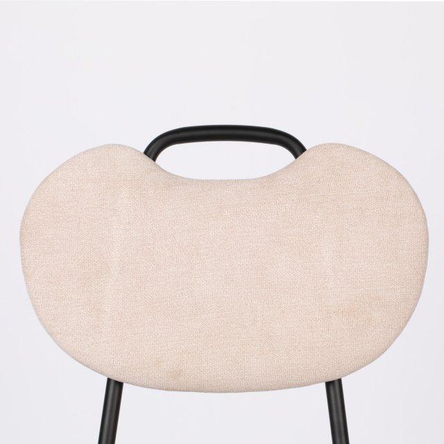 Polubarska stolica Aspen Light Pink