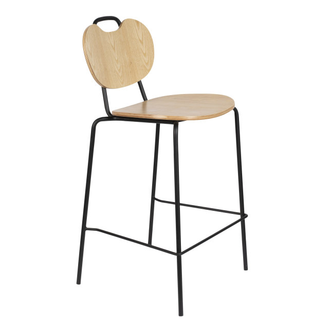 Polubarska stolica Aspen Natural Wood