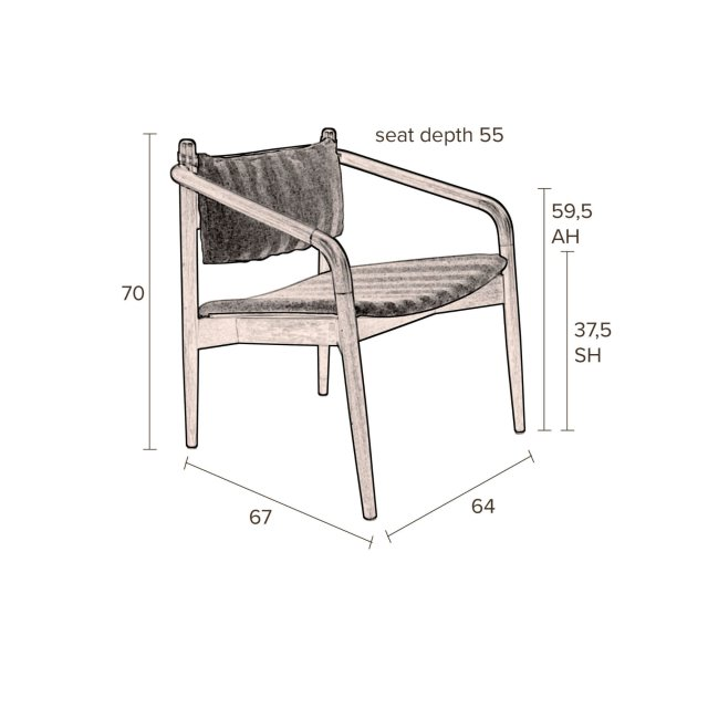 Fotelja Torrance