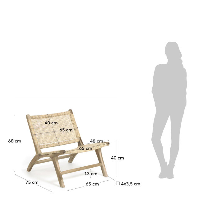 Fotelja Beida