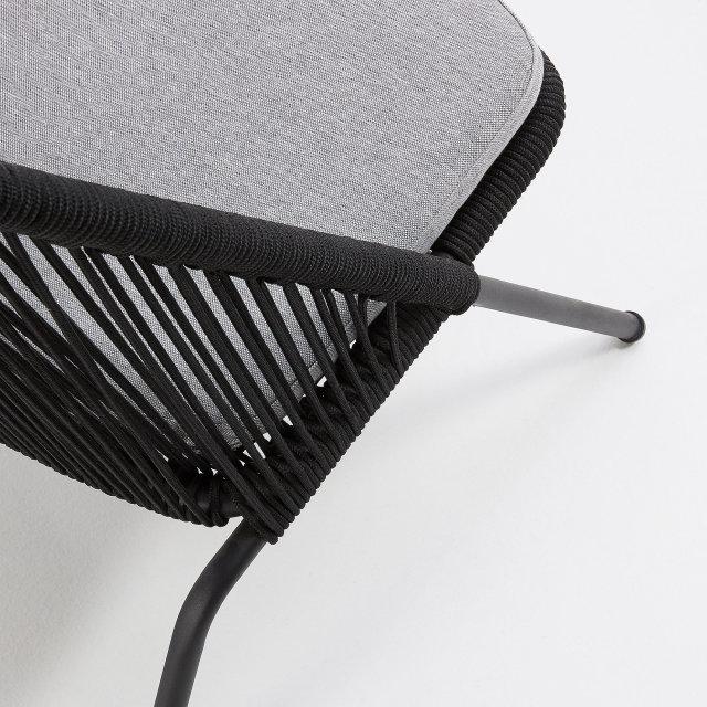 Lounge stolica Stad Black