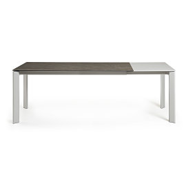 Produljivi stol Atta 140/200x90 cm Ceramic Brown/Grey