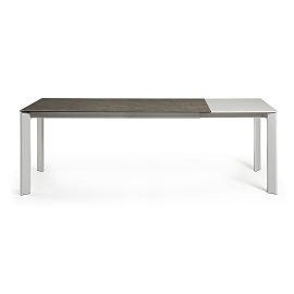 Produljivi stol Atta 160/220x90 cm Ceramic Brown/Grey