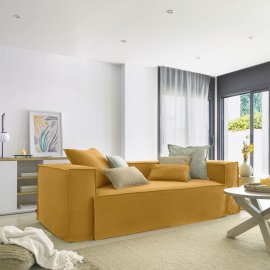 Sofa Blok Mustard