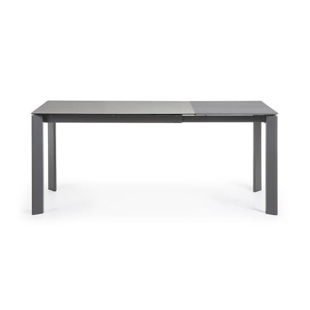 Produljivi stol Atta 120/180x80 cm Ceramic Grey/Dark Grey