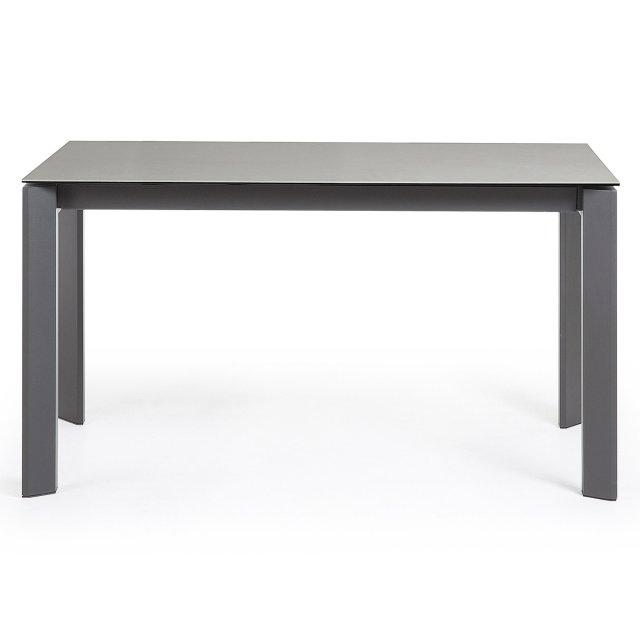 Produljivi stol Atta 140/200x90 cm Ceramic Grey/Dark Grey