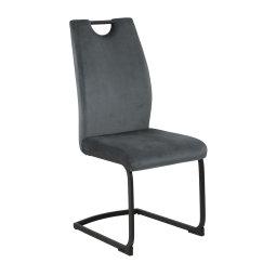 Stolica Ulla Dark Grey