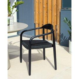 Stolica s rukonaslonom Glynis All Black