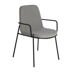Stolica s rukonaslonom Giuilia Light Grey