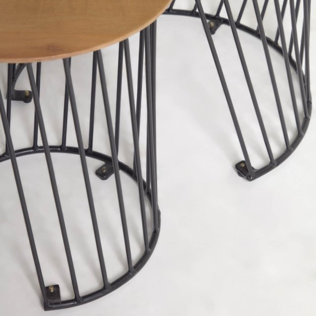 Pomoćni stolić Leska - set od 2 kom