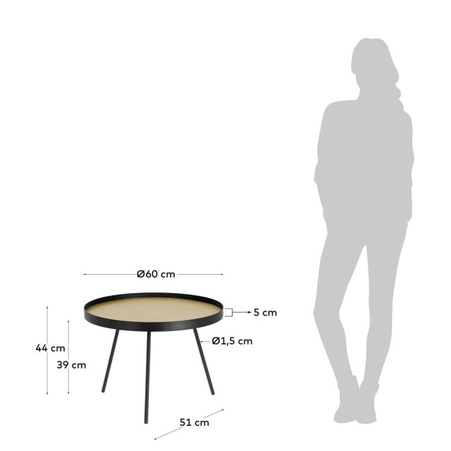 Pomoćni stolić Nenet Ø 60 cm