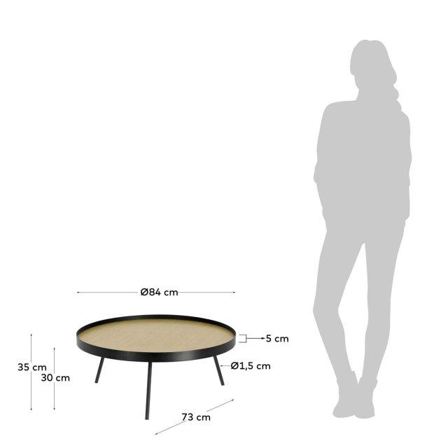 Pomoćni stolić Nenet  Ø 84 cm