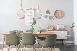 Produljivi stol Glimps 180/240x90 cm Natural